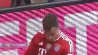 2014年2月15日德甲联赛,拜仁慕尼黑4-0弗赖堡全场高清集锦