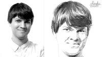 proko基础素描 — 18 真人头像