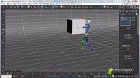 3Dmax命令面板和动画区域介绍02,学习加群231192074