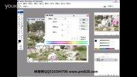 平面设计教程平面设计师速成宝典67调整色相饱和度