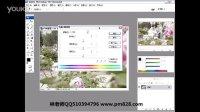 平面设计教程平面设计视频调整色相饱和度