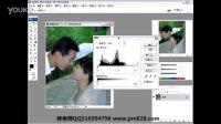 平面设计教程平面设计视频83调整对比度及色阶
