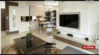 大气玄关设计 现代简约风三室两厅 装修效果图