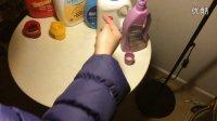 5款洗衣液(奥妙、贝亲、蓓氏、蓝月亮、威洁士)的荧光剂检测