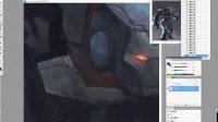 [幻想学院 出品]2014-03-05 俊灵《钢铁侠绘制过程》