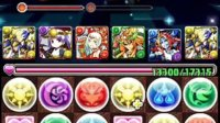 Puzzle and Dragons Ra Team King of Gods