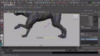 Maya 2014四足动物动画设置教程 - Animating Quadrapeds