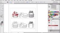 平面设计教程—— 礼品包装盒