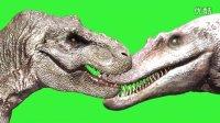 侏罗纪公园3棘龙大战霸王龙模型设计