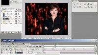 银成阳影视后期制作软件AE视频 文字流星雨 (2)