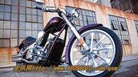 美国custom chopper风格路线全讯网导航本田Fury摩托