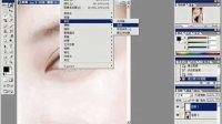 嘟嘟Photoshop社区论坛视频教程给MM上眼睛化装(画眼影)