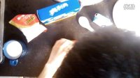 牛奶雪糕加奥利奥制作过程_20140307