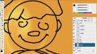 PS卡通05强大的画笔与基本卡通人物的绘制