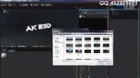 AE自学教程第七集 AK大神 E3D插件 建立真实的3D文字
