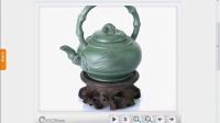 工艺品茶具 360物体展示 360度产品旋转制作 三维产品动画制作