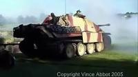 二战德军猎豹坦克,射击视频