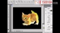 ps基础教程 用细化工具抠毛发 ps视频教程26
