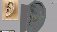 maya耳朵建模视频教学