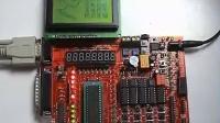 单片机学习LCD12864点阵型液晶屏图形及中文文字显示实验
