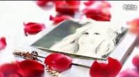 实拍+后期,浪漫玫瑰花瓣婚礼相册AE模板