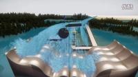 CryEngine实时水体模拟效果