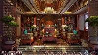 兴化豪华私人古典中式会所装修设计效果图分享