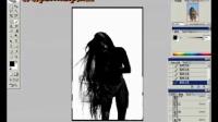 嘟嘟Photoshop社区论坛视频教程长发美女的背景抠图