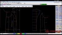 服装打版教程 服装制版教程 服装手工打版教程 服装纸样打版教程 服装CAD制版 第34节 ( 推版系统 )-- 点规则拷贝。片规则拷贝