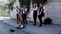 捷克布拉格城堡街頭艺人(演奏)