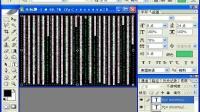 PS文字特效之89黑客帝国