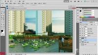 3dmax建筑教程——亲水平台试学建模部分第四课