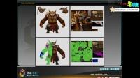 黄蜂怪原画的分析模型④-名动漫三维3Dmax角色模型教程