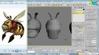 黄蜂怪原画的分析模型②-名动漫三维3Dmax角色模型教程