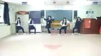 【美女热舞】高中生模仿韩国少女时代组合热舞