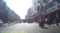 卫程A3行车记录仪哈尔滨新金夫人皮草实测视频