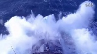 Navy Ship in EXTREME Ocean Storm