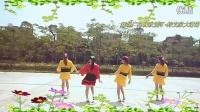 可爱玫瑰花广场舞 桃花运四方恰恰舞 刘瑛编舞、含背面演示和分解