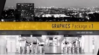 高端图形样式的电视网络频道全套包装AE模板 Graphics Package v1