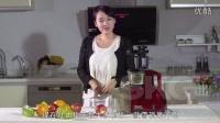 原汁机SKG4824雪顶果汁制作
