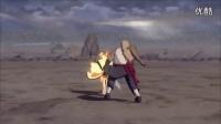 巴士单机游戏:《火影忍者:究极风暴-革命》三代目雷影演示