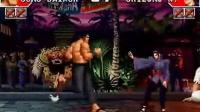 拳皇97S级高手之战之辉辉无敌神乐连续两局发力干到底
