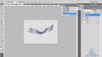 [PS]EasyPS 自学教程 photoshop教程 练习-用变换工具制作飞鸟