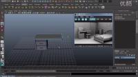 MAYA视频教程_室内场景-04桌子