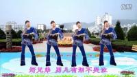 高安欣悦广场舞-好兄弟。拍手操。抠像,歌词字幕
