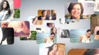 AE模板-照片汇集成文字Logo Revostock Photo Logo