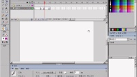 Flash教程-宁双学好网-02、工作面板的介绍