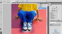 [PS]EasyPS 自学教程 photoshop教程 使用快速蒙板编辑选区和抠图
