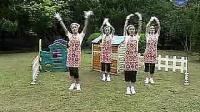 幼儿舞蹈视频大全最新舞蹈律动幼儿园造成律动披萨_标清_标清