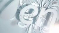 立体花纹动画特效logo演绎标志标识AE模板